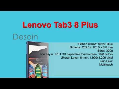 Lenovo Tab3 8 Plus Spesifikasi dan Review (Rumor)