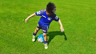 7 Year Old Wonderkid Showing Amazing Football Skills for Kids