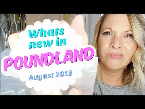 WHATS NEW IN POUNDLAND!  August Poundland haul