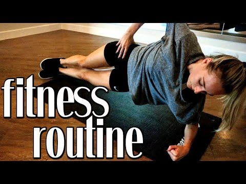 CURRENT FITNESS ROUTINE | Simply Ney
