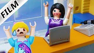 Playmobil Film deutsch   BÖSE LEHRERIN NEUE SCHULDIREKTORIN - Was wird aus Hannah?   Kinderserie