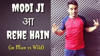 Modi ji Aa Rahe Hain in Man vs Wild | Standup Comedy by Minto | Mintoizzm