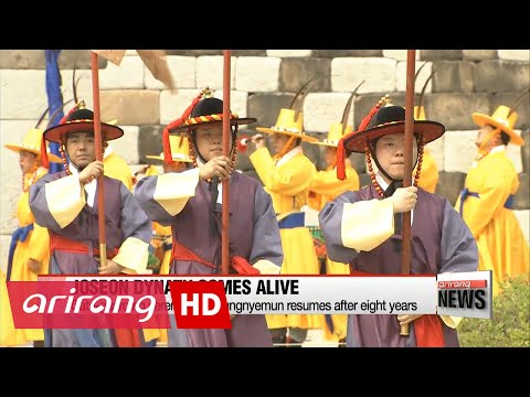 Joseon Dynasty comes alive at the heart of Seoul