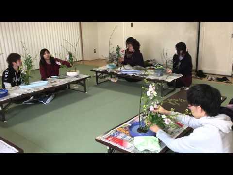 【近畿大学】華道花心部2016