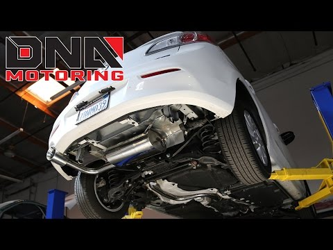 How to Install 13-14 Mazda 3 Cat Back Exhaust