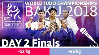 World Judo Championships 2018: Day 2 - Final Block