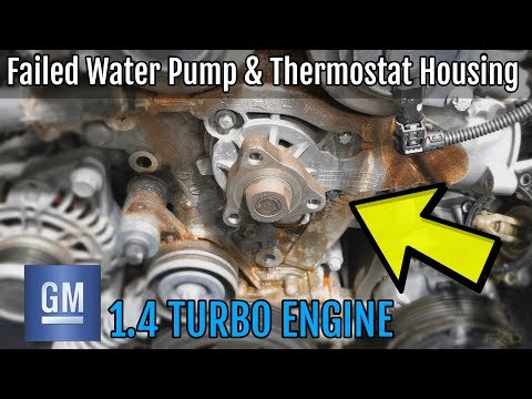 GM Cruze 1.4 Turbo Water Pump Install - How To DIY