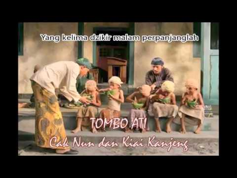 Tombo Ati Sunan Bonang (dan arti) Cak Nun - No 1 Evergreen Indonesian Sufi Saint Song