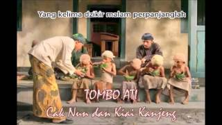 Gambar cover Tombo Ati Sunan Bonang (dan arti) Cak Nun - No 1 Evergreen Indonesian Sufi Saint Song