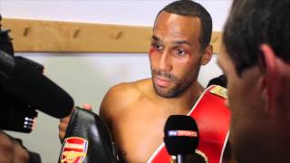 JAMES DeGALE DEDICATES IBF TITLE TO OLD RIVAL & FRIEND THE LATE DARREN SUTHERLAND