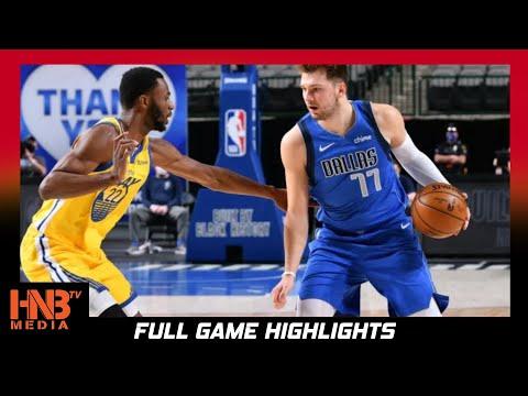 GS Warriors Vs Dallas Mavericks 2.6.21 | Full Highlights | STEPH CURRY DROPS 50+