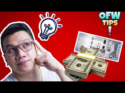OFW TIP #2 : US Dollar Ang Iuwi Sa Pinas, Wag Saudi Riyals