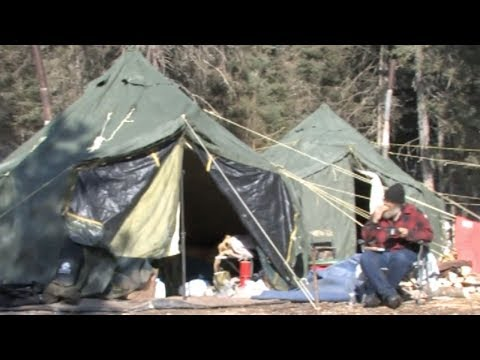 Horselogging: Timber to Cabin 3 - Logging Camp
