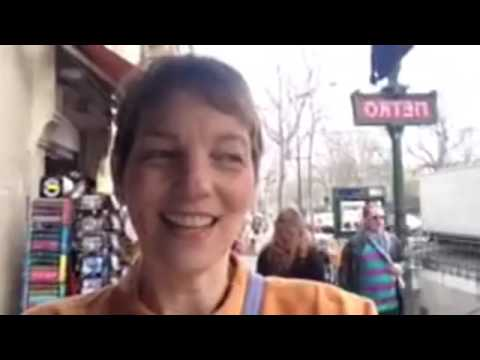 Mary in Paris: A fuzzy video (bad Internet!) about seeing life anew …
