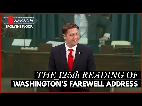 Ben Sasse Delivers the 125th Reading of Washington