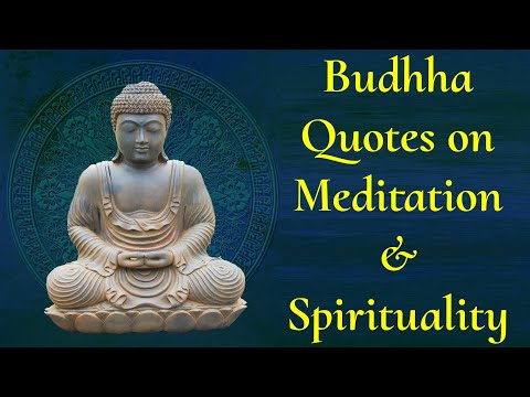 Buddha Quotes On Meditation And Spirituality | Buddha Thoughts In English | Positive Zone