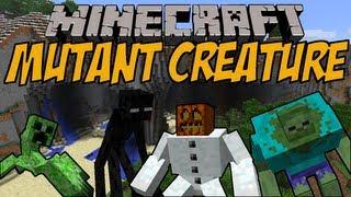 MUTIERTE MINECRAFT MOBS | Mutant Creature Mod | Minecraft Mod Review [DEUTSCH]