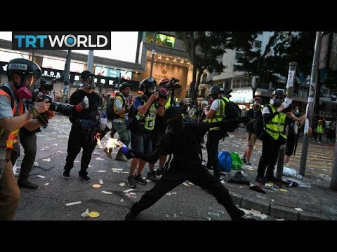 hong-kong-protests:-thousands-stage-rally-on-china's-national-day