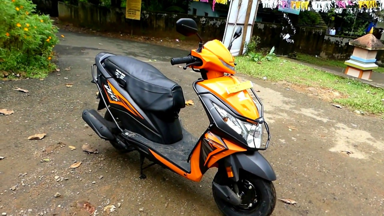 Honda Dio Vibrant Orange Colour YouTube