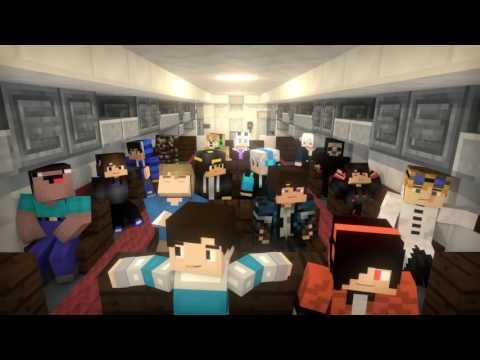 Phim Minecraft - Đại dịch zombie - Nhạc SuperHero