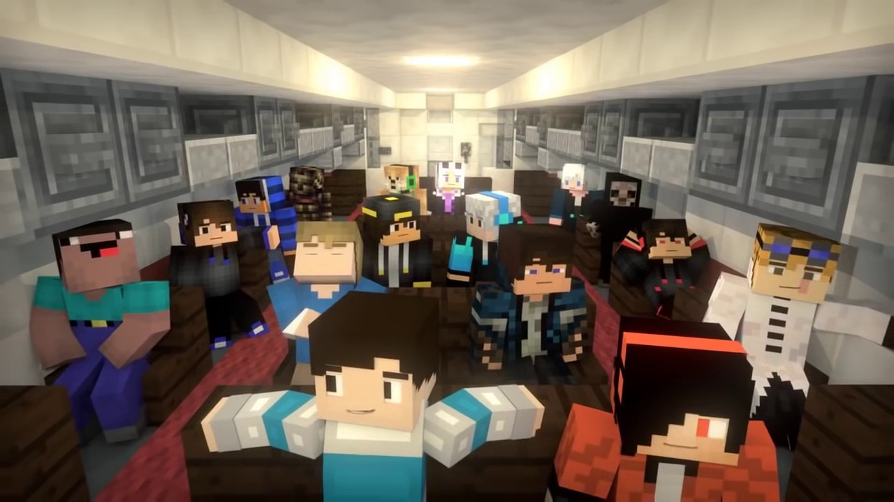 Minecraft Đại dịch Zombie  Minecraft Animation Full HD  Super Hero Music   UNOFFICIAL VIDEO