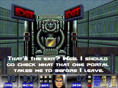 Good Doom WADs - TeKBase0 wad (High-Tech Outpost Facility)