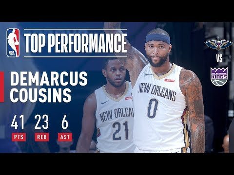 DeMarcus Cousins Stuffs Stat Sheet in Return to Sacramento l October 26, 2017