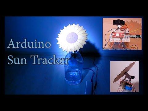 Arduino Robot Solar Tracker Flower