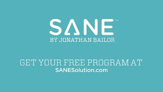 How To Save Time Eating SANE and Exercising Smarter  : with Jonathan Bailor   SANE Solution
