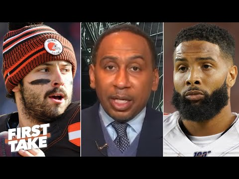 Stephen A. blames Baker Mayfield for Odell Beckham's drop-off year with the Browns   First Take