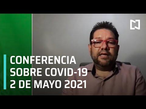 Informe diario Covid-19 en Vivo - 2 de Mayo 2021