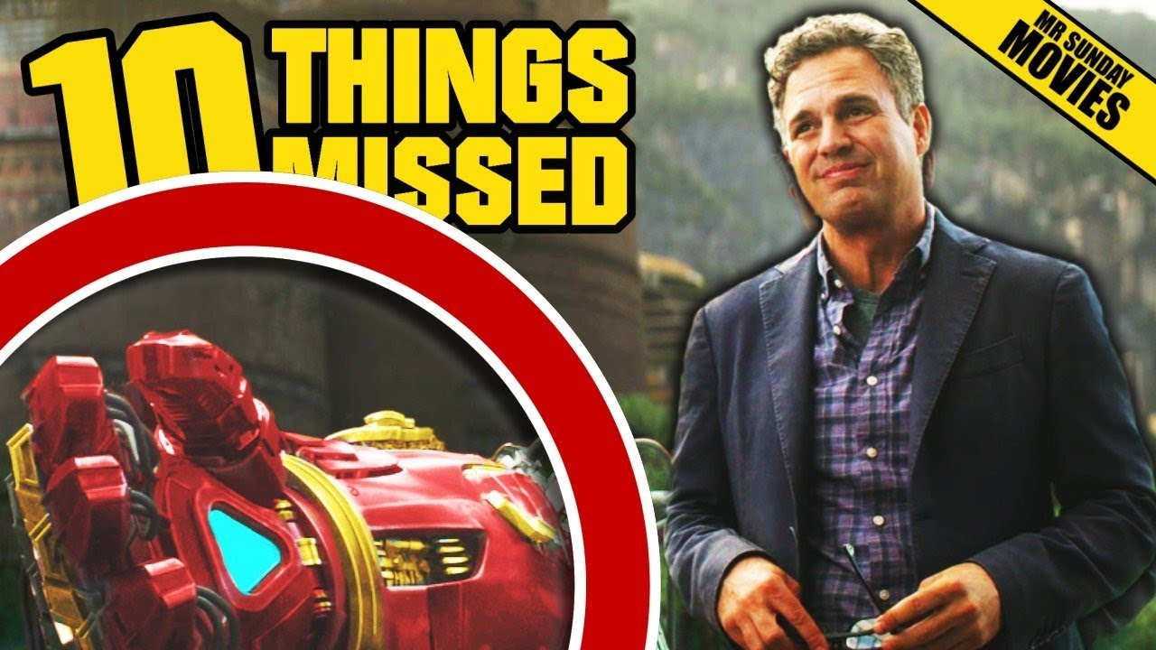 AVENGERS: INFINITY WAR Trailer Breakdown – More Things Missed Easter Eggs (Marvel Studios)