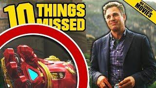 AVENGERS: INFINITY WAR Trailer Breakdown - More Things Missed Easter Eggs (Marvel Studios)