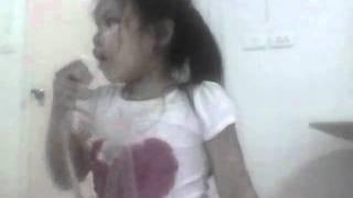 น้ากาลาโต้  โดยน้องอชิ  อายุ   4 ขวบ