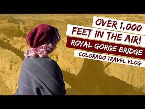 Royal Gorge Bridge :: Colorado Travel Vlog
