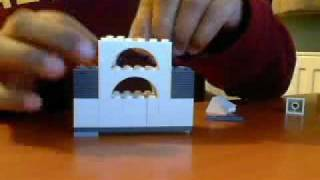 How to make a lego card holder