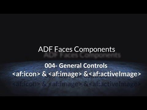 004- General Controls   af:icon  &  af:image & af:activeImage