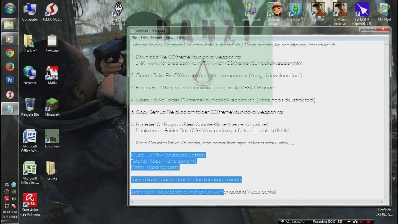 Unlock Weapon Counter Strike Extreme V6 - YouTube