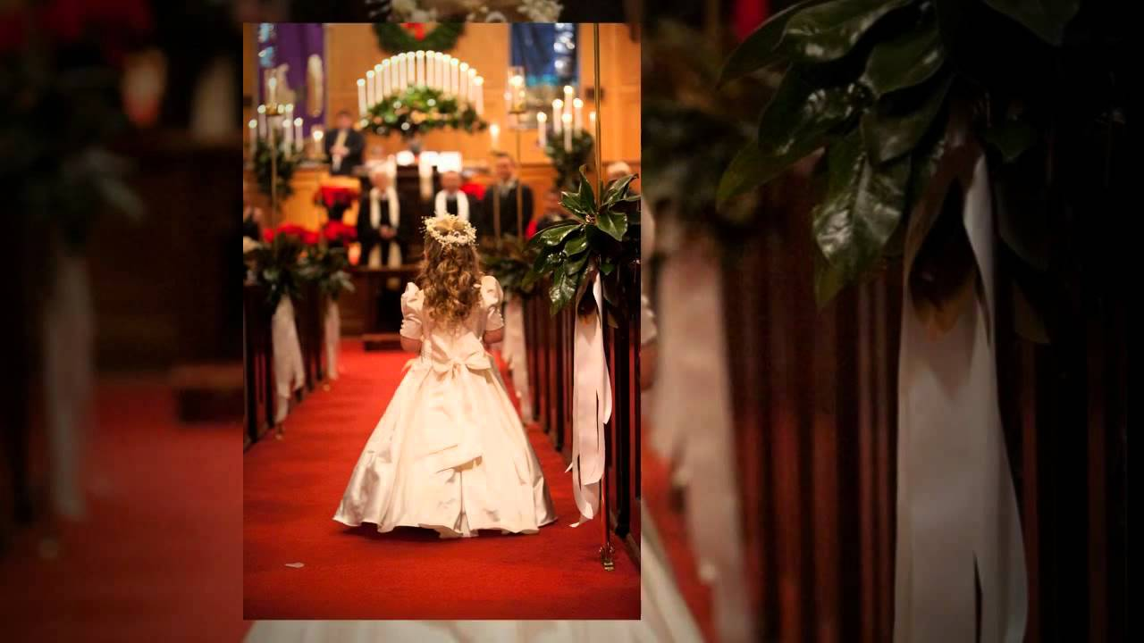 jessica and timmys christmas themed wedding first baptist church henderson henderson country club