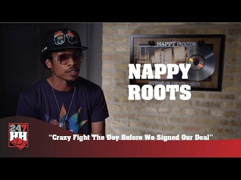 Nappy Roots - Crazy Fight The Day Before We Signed Our Deal (247HH Wild Tour Stories)