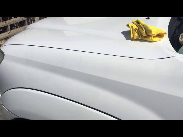 Toyota super white paint shine fix