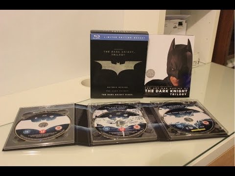 The Dark Knight Trilogy Unboxing (Blu-ray)