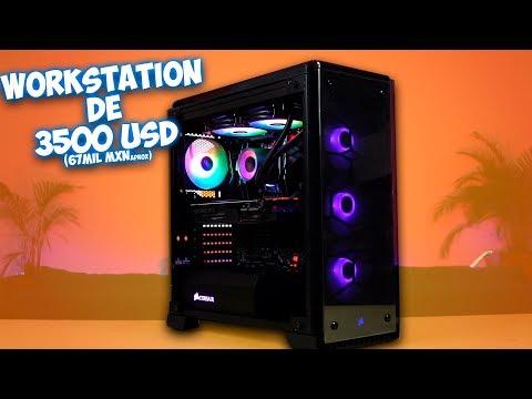 Armando Computadora para Arquitectura de 3500 USD con threadripper 2950x y RTX