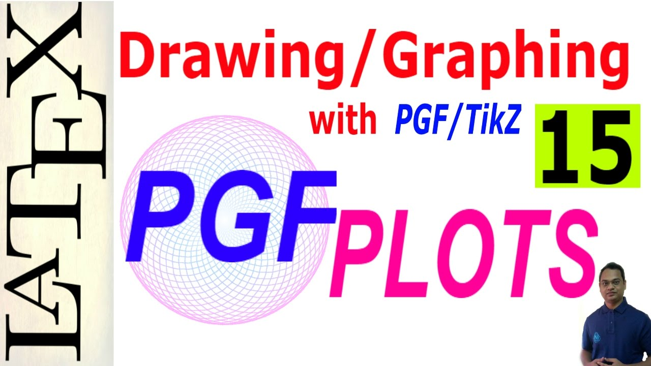 Basic and Advanced Drawing/Graphing in LaTeX Using PGF/TikZ (PGFPLOTS),  Part-15