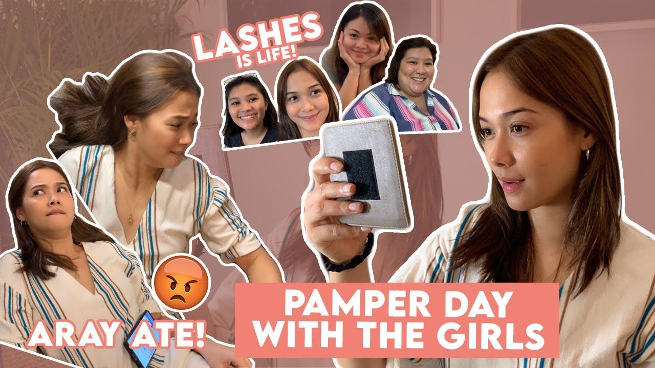 #MajaMoments - Tiis Ganda! Pamper day with the girls