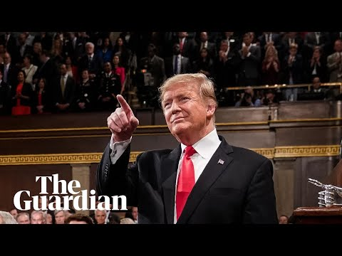 Donald Trump delivers the State of the Union address - watch live