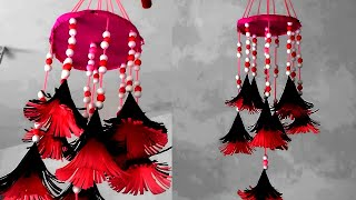How To Make Christmas Jhumar New Desing At Home Beautiful
