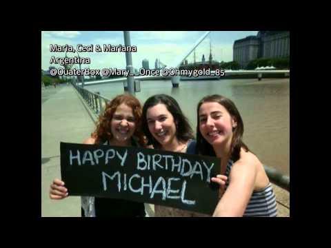 Happy Birthday Michael RaymondJames