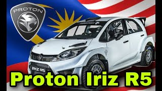 Proton iRIZ R5 240HP MALAYSIA In Action | WRC 8 FIA World Rally Championship
