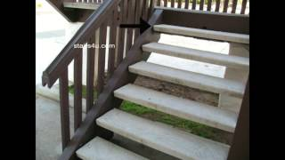 Bracket Stair Tread Assembly And Layout Problem At Landing